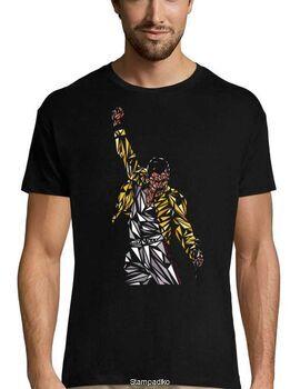 Rock t-shirt με στάμπα Queen Freddie Mercury