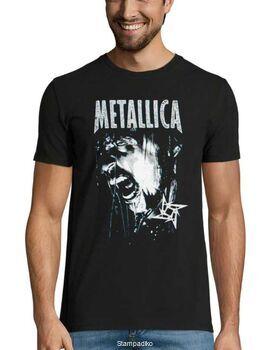 Heavy metal t-shirt με στάμπα Metallica Vintage T Shirt 90's 1999 Gods Of Metal Concert Hetfield