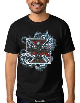 Μπλούζα t-shirt  Skull & Dragons