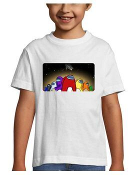 Mπλουζάκι με στάμπα Among