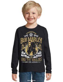 Παιδικό μπλουζάκι με στάμπα Bob Marley and The Wailers