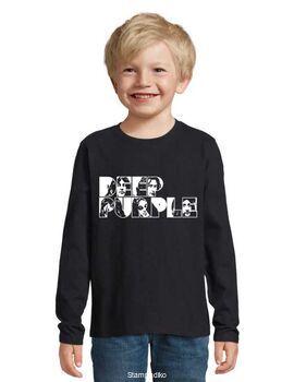 Παιδικό μπλουζάκι με στάμπα Deep Purple