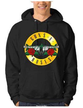Μπλούζα Φούτερ με κουκούλα Guns n Roses