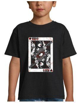 Παιδικό μπλουζάκι με στάμπα Kiss