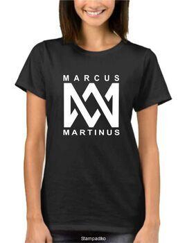 Μπλούζα t-shirt unisex με στάμπα Marcus & Martinus