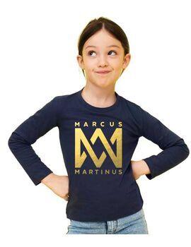Παιδικό μπλουζάκι με στάμπα Marcus & Martinus