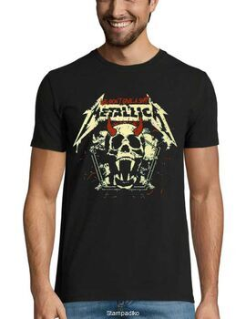 Heavy metal t-shirt με στάμπα Metallica We Don't Give a Shit!