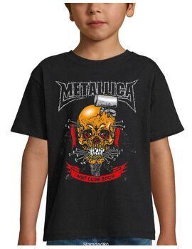Παιδικό μπλουζάκι με στάμπα Metallica Met Club 2004 Concert Tour