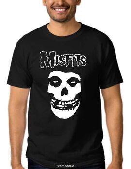 Μπλούζα t-shirt punk rock band Misfits