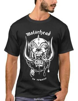 Heavy metal t-shirt με στάμπα Motohead no remorse
