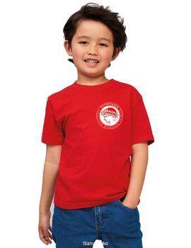 Μπλουζάκι με στάμπα Ολυμπιακού