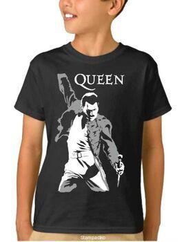 Παιδικό μπλουζάκι με στάμπα Freddie Mercury Queen