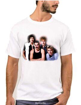 Rock t-shirt με στάμπα Queen