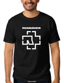 Mπλουζάκι με στάμπα industrial metal Rammstein