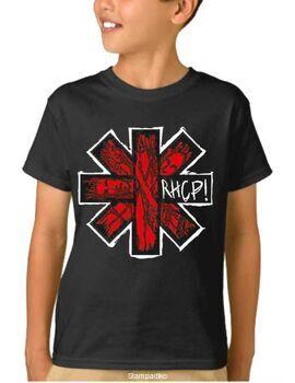 Παιδικό μπλουζάκι με στάμπα συγκροτήματος Red Hot Chili Peppers