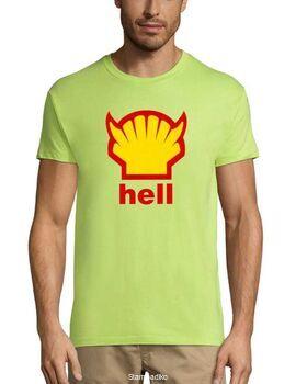 Xιουμοριστικό αστείο μπλουζάκι Hell medium