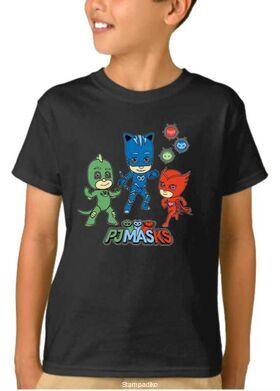 Παιδικό μπλουζάκι Pj Masks Πιτζαμοήρωες
