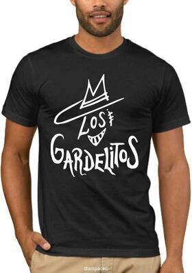 Rock t-shirt με στάμπα Los Gardelitos
